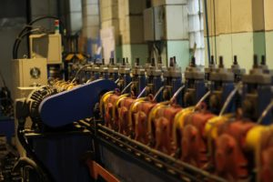 Производитель профиля использует современные средства автоматизации