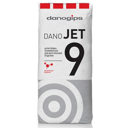 Шпатлевка полимерная Danogips DANO JET 9
